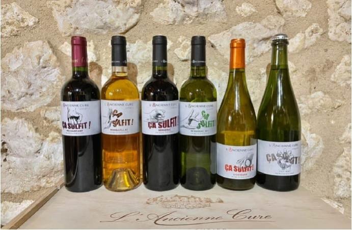 Nos vins bio sans soufre